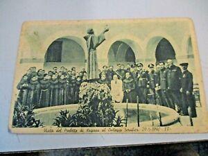 VISITA-PREFETTO-RAGUSA-COLLEGIO-SERAFICO-ISPICA-29-5-1940-FP-NV-1940