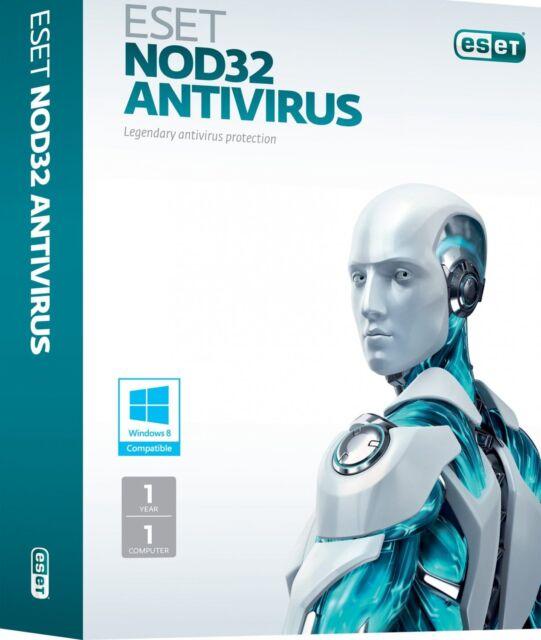 ESET NOD32 Antivirus 1 PC 1 Anno Global Key Digital Download Fatturabile ESD