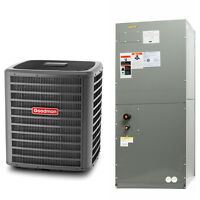 Goodman-gree 2.5 Ton 13 Seer Complete Split System Heat Pump