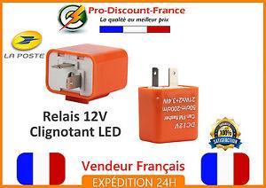 Relais-Centrale-Clignotant-LED-Moto-Scooter-Quad-12V-Reglable-Anti-Erreur