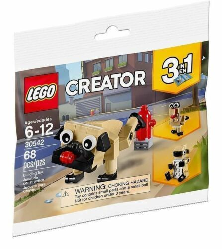 LEGO 30542 Creator 3-in-1 Pug Dog Turkey Koala Polybag *BRAND NEW*