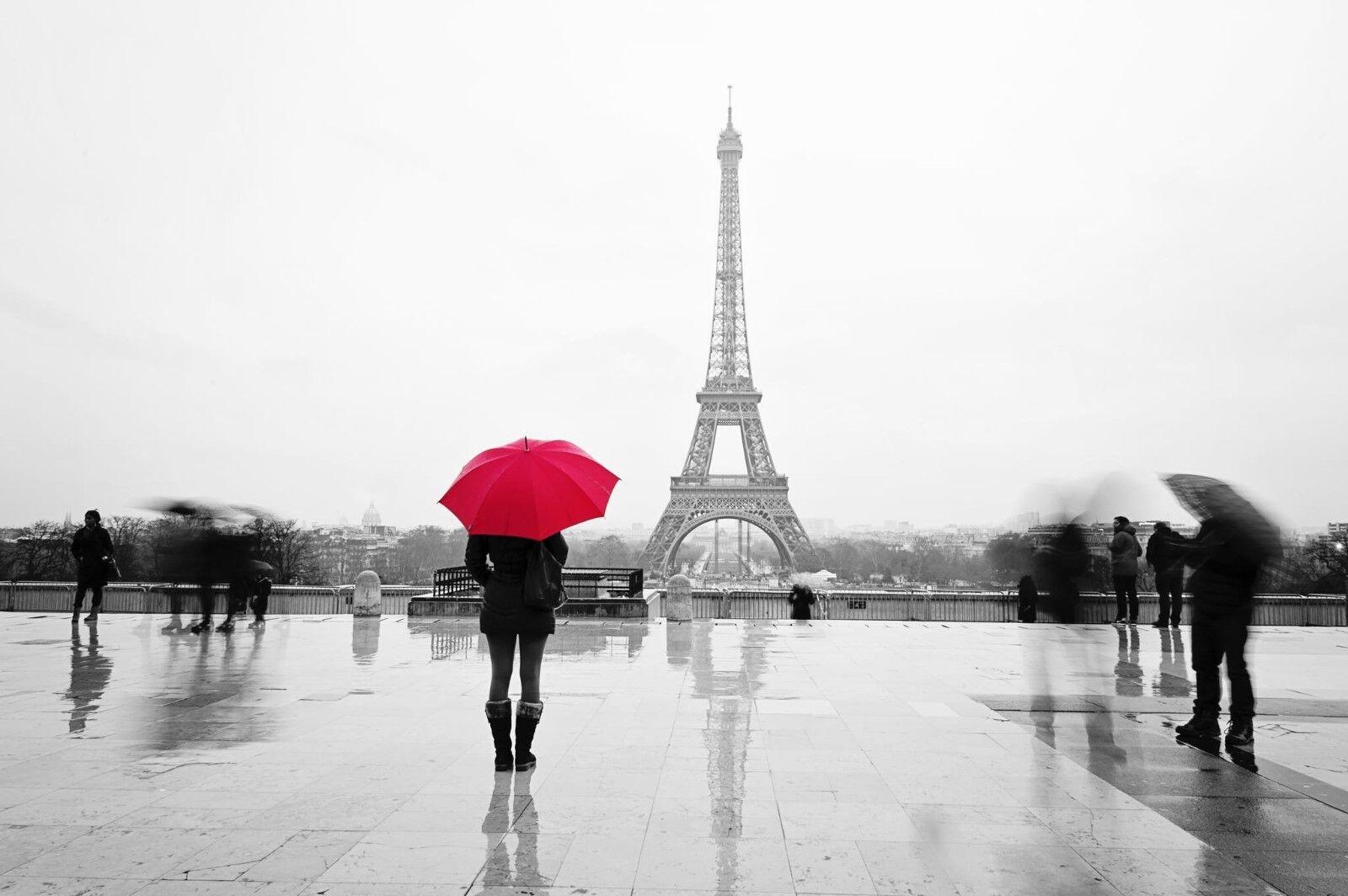 Pretty Paris Romantic with Quality art Canvas Print home Decor choose your Größe