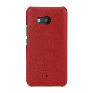 promo code 97e91 c13ca Details about TETDED Premium Leather Case for HTC U11 Dual SIM -- Caen (LC:  Red) Back Case
