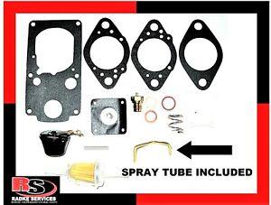 """Brosol/Solex H40/44EIS """"KADRON"""" Carb Rebuild kit W/ NEW SPRAY TUBE! RADKE 702"""