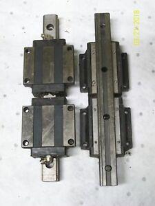 THK XY Stage w// 3 Linear Rails /& 2 HSR20 Bearing Blocks