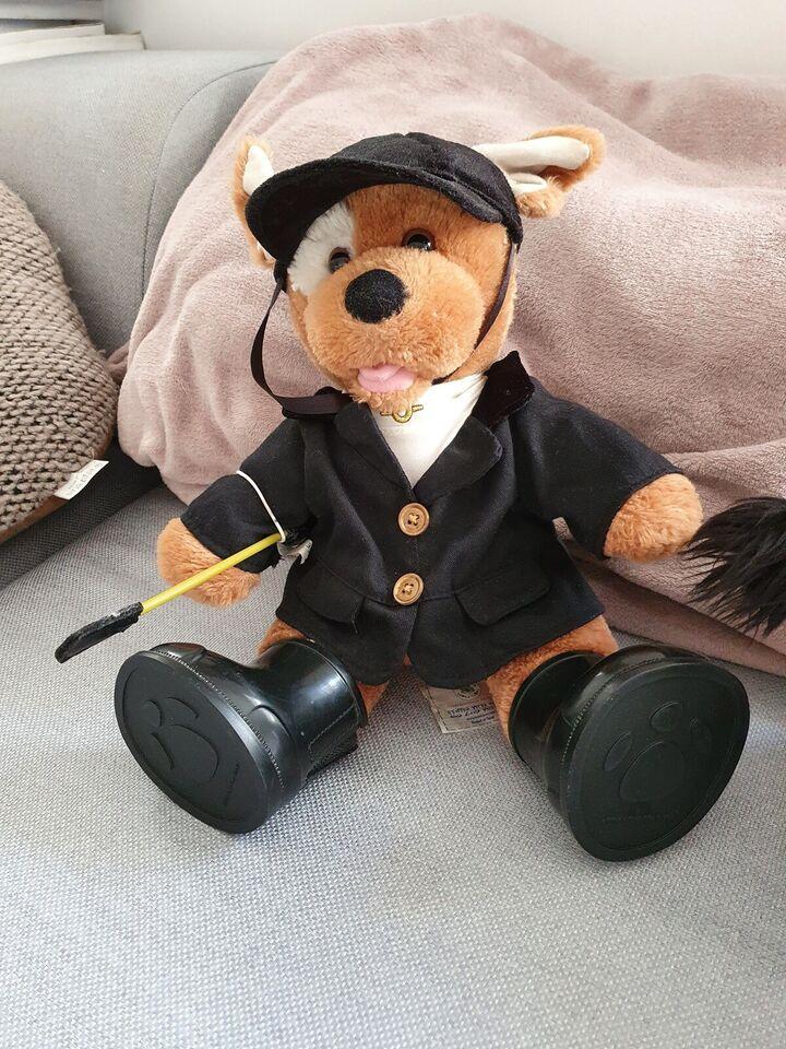 2 Build-a-bear bamser med rideudstyr, Build-a-bear