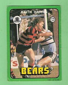 1978-NORTH-SYDNEY-BEARS-RUGBY-LEAGUE-CARD-141-KEITH-HARRIS