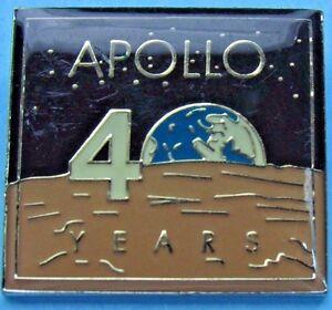 PIN enamel APOLLO 11-40th Anniversary NASA /'09 Eagle Has Landed Neil Armstrong