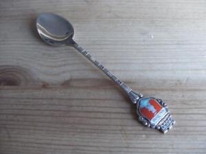 Solid-Silver-800-Souvenir-Collectors-Tea-Spoon-MALCESINE