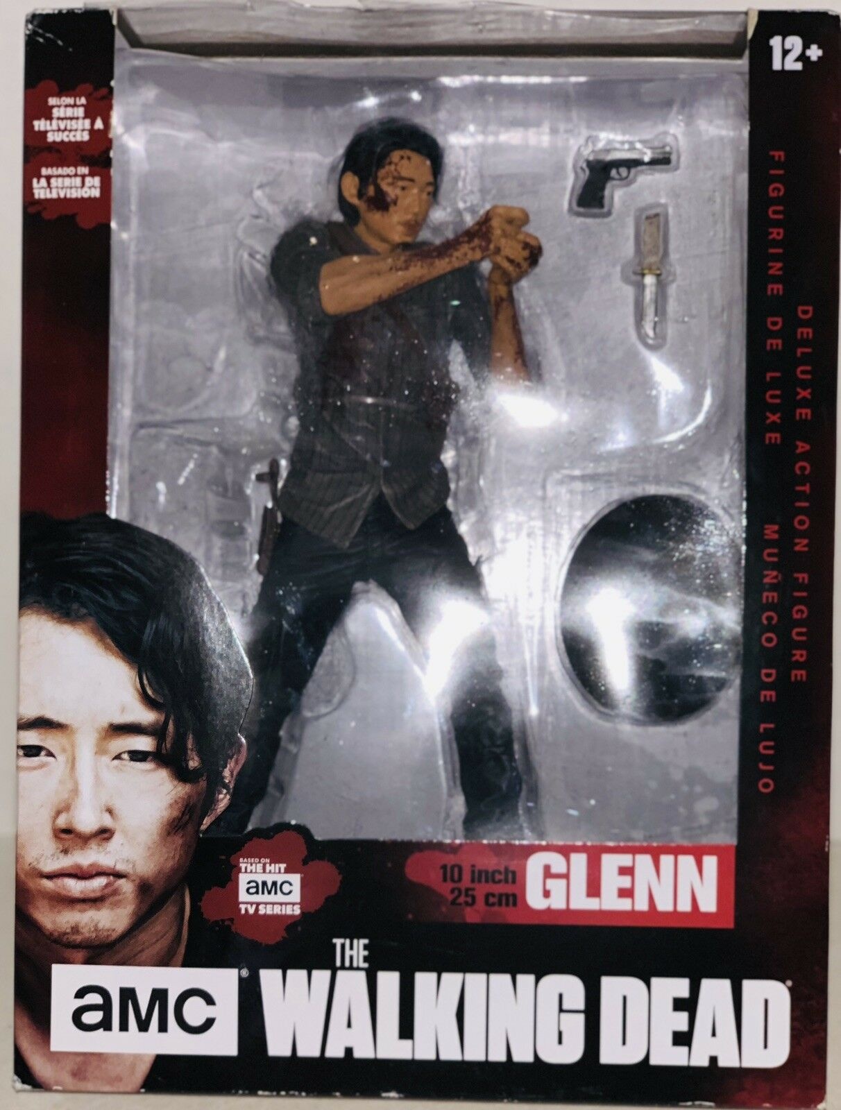 THE WALKING DEAD BLOODY GLENN 10  DELUXE ACTION FIGURE McFARLANE TOYS 2017