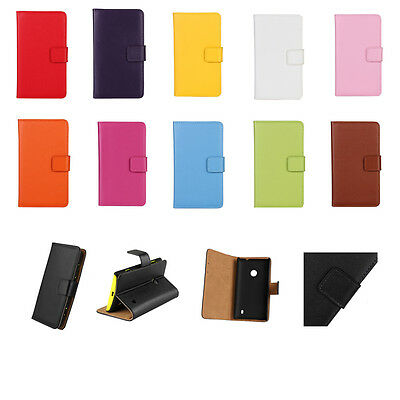 New Wallet Card Slot Stand Leather Case Cover Pouch For Nokia Lumia Smart Phones