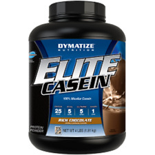 Dymatize Nutrition Elite Casein Supplement, Chocolate, 4 Pound Exp:4/2018
