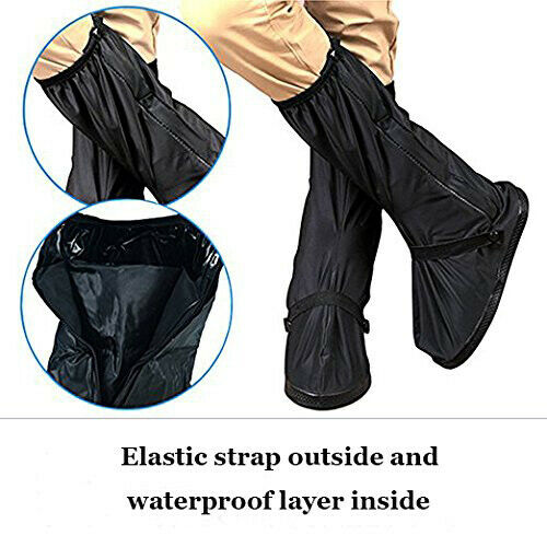 Thick Reusable Overshoes Rain Snow Boot Protector Shoe Covers For Biking Cycling