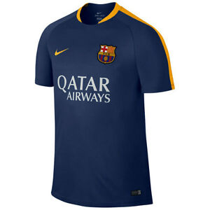 outlet store fe996 33006 Nike FC Barcelona Official 2015-2016 Soccer Training Jersey ...
