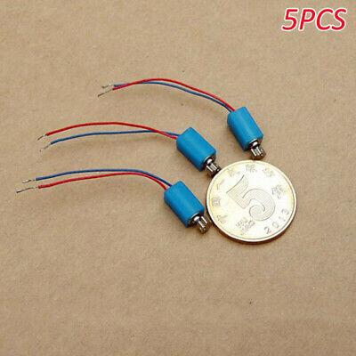 5PCS 4mm*15mm DC 1.5V~3V Micro Mini Coreless Vibrating Vibration Electric Motor
