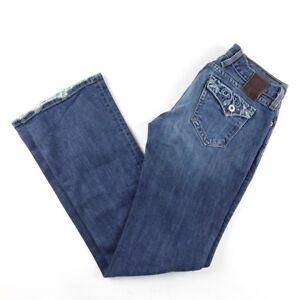 Lucky-Brand-Women-039-s-Sociatlite-Flare-Leg-Jeans-Medium-Denim-Size-2-26
