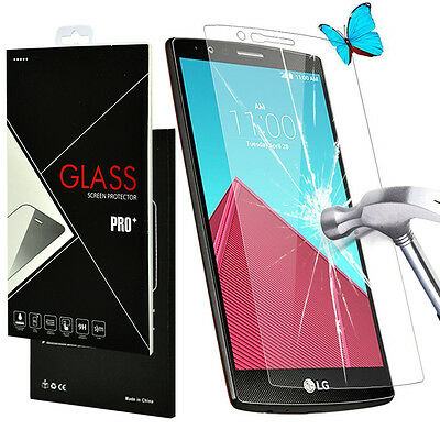 9H+ Premium Real Tempered Glass Screen Protector Protection Guard Film for LG