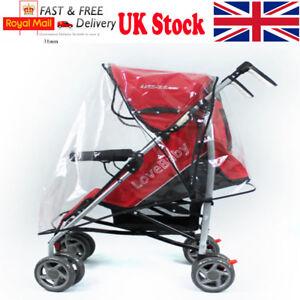 Universal-Pushchair-Buggy-Rain-Cover-Baby-Transparent-Stroller-Pram-Wind-Shield