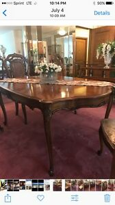 Image Is Loading Union Furniture Company Complete Dining Room Set