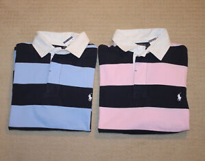 NEW-Polo-Ralph-Lauren-Big-and-Tall-Pony-Logo-Classic-Fit-Striped-Shirt