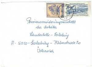 Brief, Uderns, Mischfrankatur mit GA-Ausschnitt, 1984 (x) - Lienz, Österreich - Brief, Uderns, Mischfrankatur mit GA-Ausschnitt, 1984 (x) - Lienz, Österreich
