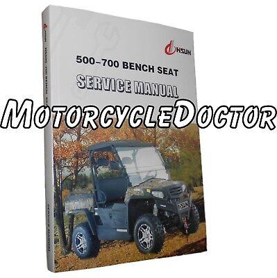 Manual,Service,Paper,UTV,HiSun,Bench Seat,500,550,700,750,Sector,Cowboy,Knight