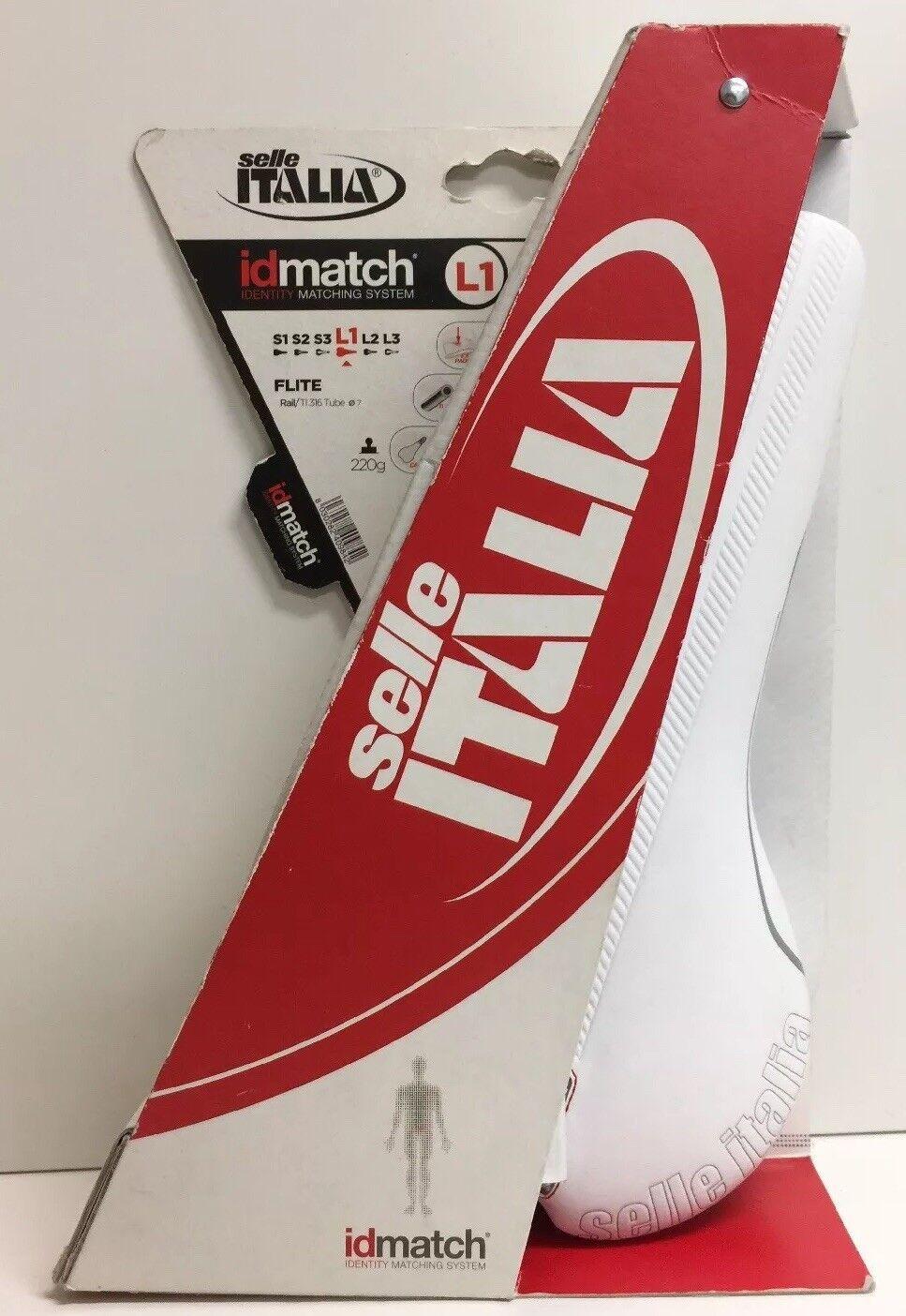 (New) Selle Italia Flite Saddle, White L1