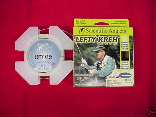 Scientific Anglers Fly Line Lefty Kreh Signature WF8F