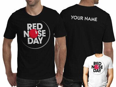 RED NOSE DAY BUNNY COMIC RELIEF KIDS BOYS MEN WOMEN T-SHIRT TEE TOP