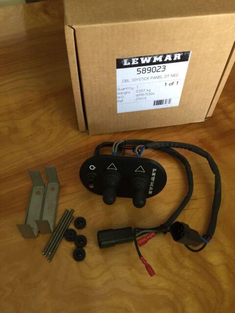 LEWMAR Dual Joystick Panel 589023