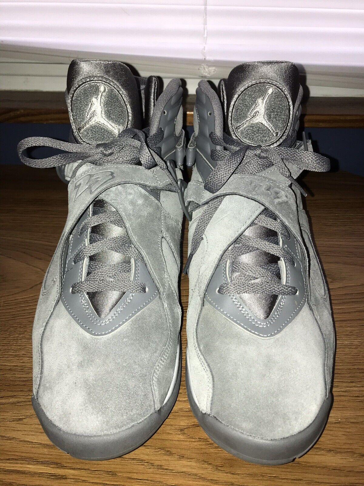 "Air Jordan 8 Retro ""Cool Grey"""