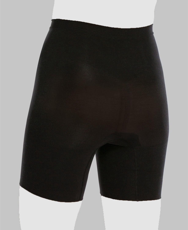 Spanx Women's Black Casual Stretch Lightweight Comfort Power Shorts Size 3X