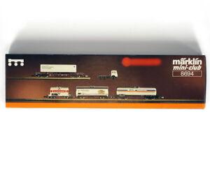 MARKLIN-MINI-CLUB-8694-Z-DB-Bayern-regional-Freight-CARS-set-Era-IV