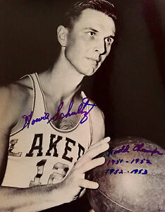 Howie Schultz Minneapolis Lakers 8x10 Photo W/COA (2 Pro-Sports ...
