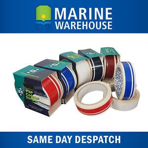 Dark-Blue-Twin-Pinstripe-Vinyl-Decorative-Boat-Tape-PSP-Marine-21mm-X-10M-1950