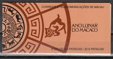 Macao Scott 662a Mint NH booklet (Catalog Value $24.00)
