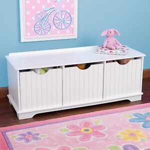 Image Is Loading Childrens Storage Unit Kids Toy Box Storage Bench