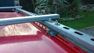 Isuzu-Trooper-3-0TD-LWB-Roof-rack-bracket-kit-Uni-strut