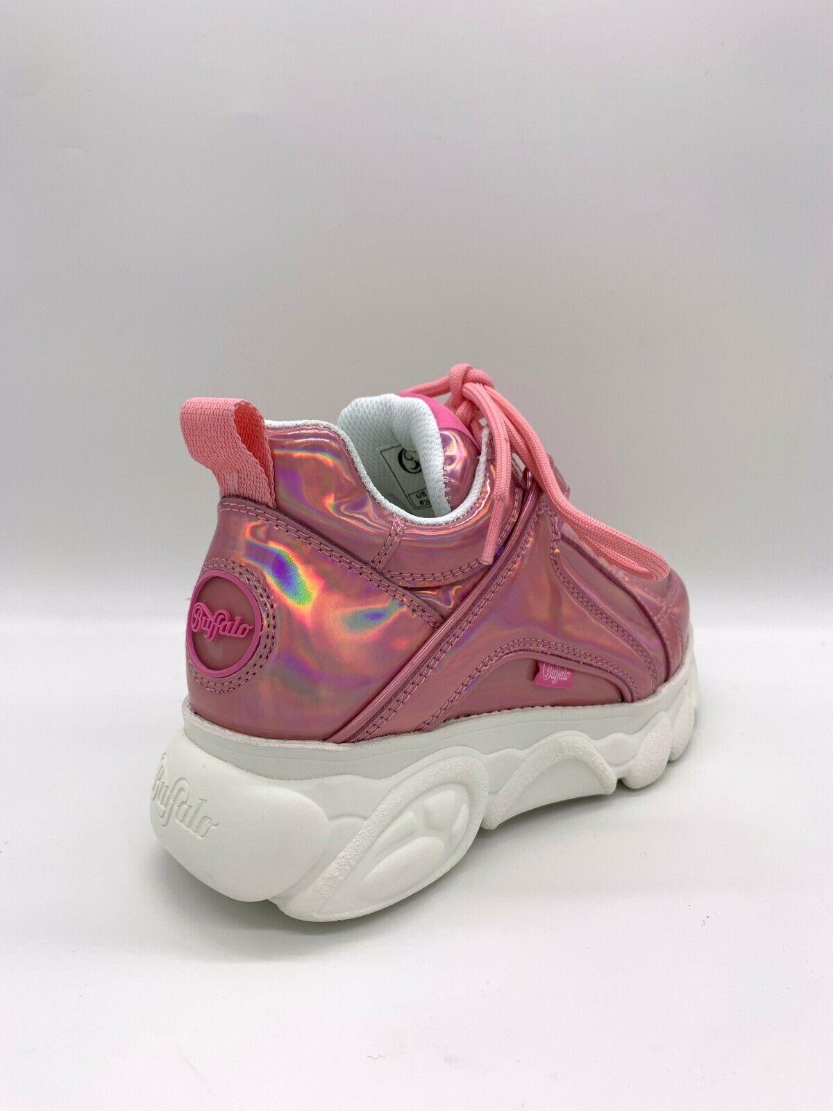 Details about Buffalo Boots Shoes Sneaker Platform Shoes 90er Pink Glitter Limited show original title