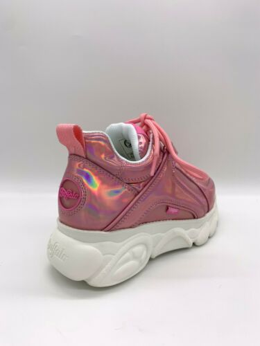Plateforme Limited Bottes 90's Chaussures Glitter Buffalo Chaussures Sneaker Pink gwwSvtqRx
