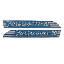 Blue Side Emblems To30 Pair Massey Ferguson 067