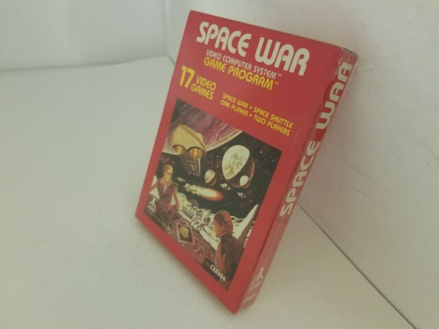 NEW NEAR MINT SPACE WAR GAME FOR ATARI 2600 USA NTSC  E24