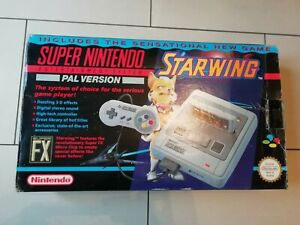 Starwing-Snes-Console-Boxed-Super-Nintendo-Fully-Tested-Free-P-amp-P