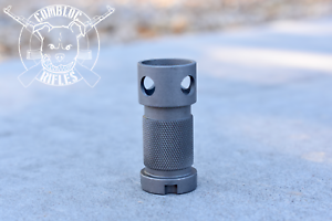Iraqi Tabuk Muzzle Breaks fresh off the line sand blasted an All 100/% USA Made
