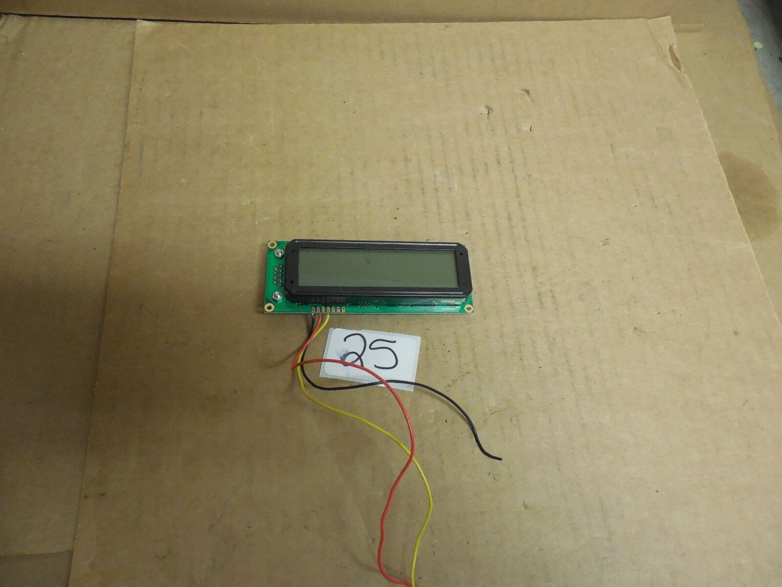 CRYSTALFONTZ LCD CIRCUIT BOARD CARD SKD162-632 V2.1