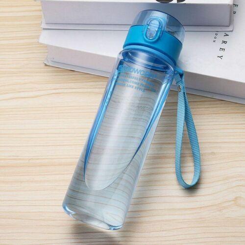 Water Bottle 560ML 400ML Plastic Drinkware Tour Sport Leak Proof flask bottle