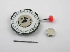 Miyota-2115-Quartz-Watch-Movement-Date-3-New-with-Stem-amp-Battery