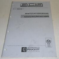 Werkstatthandbuch Motor XUD11BTE Dieseleinspritzung EPIC Peugeot 605 Stand 2/'96