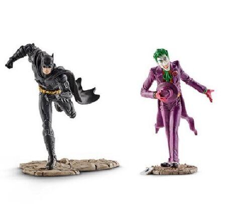 SCHLEICH 22510 BATMAN VS THE JOKER scatola regalo serie fumetto Justice League