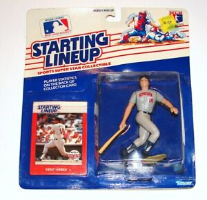 Starting Lineup Kent Hrbek MLB Baseball Figure - Card MOC KENNER 1988